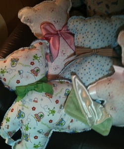 Sensory Bears with Blankies